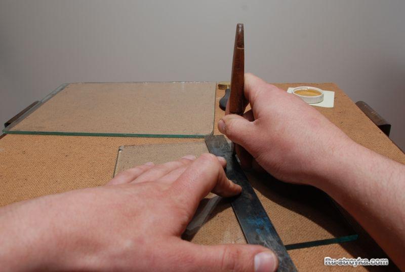 Как резать закаленное стекла в домашних условиях 346