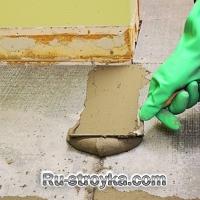 Монтаж плиты ЦСП под керамическую плитку.