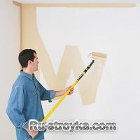Покраска помещения в нужный вам тон.