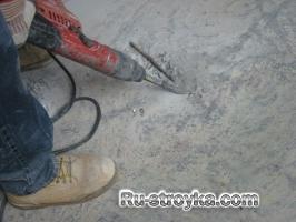 Востановление бетонного пола.