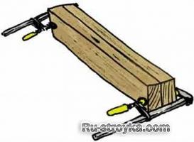Изготовление простой лестницы.