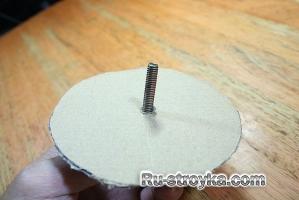 Как сделать шлифовальный диск.