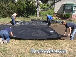 Как сделать водопроницаемую брусчатку.