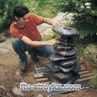 Как построить фонтан.