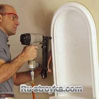 Как установить декоративные ниши в стене.