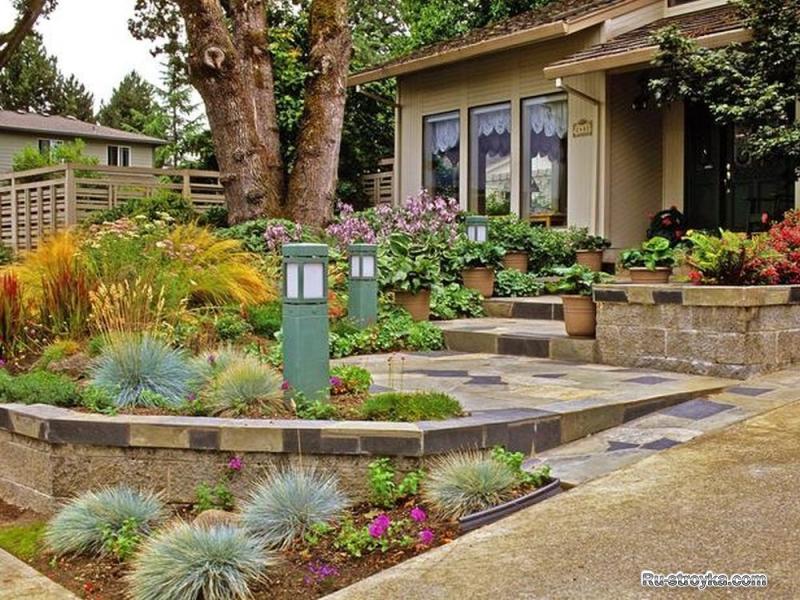 Садовый участок обустройство дизайн фото
