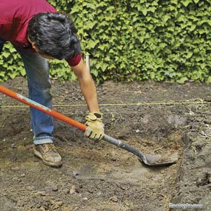 Как снять верхний слой почвы своими руками 37