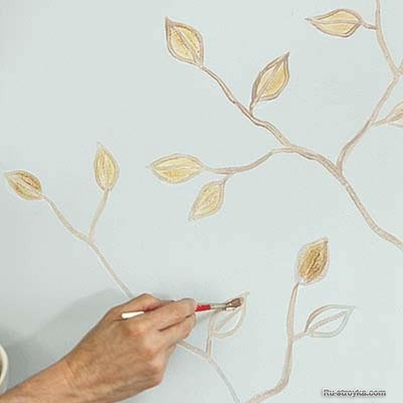 Как нарисовать на стену 94