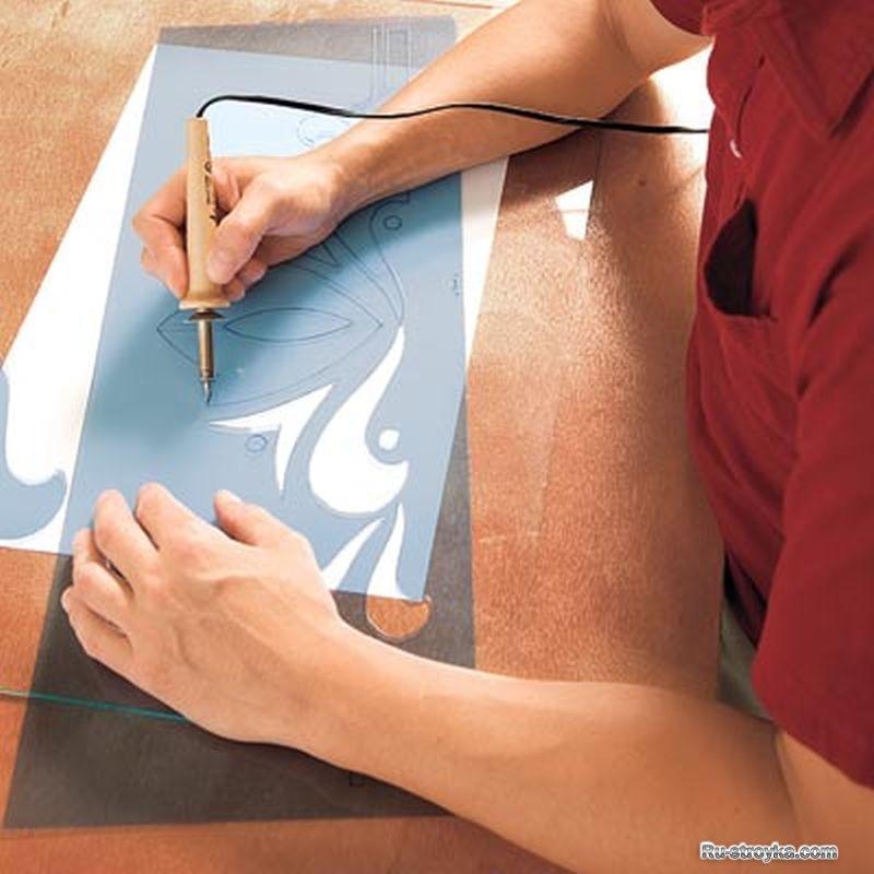 Рисунок на пластике своими руками 35