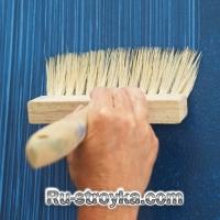 Как создать искусственный эффект ткани из краски.