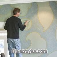 Как нарисовать крупногабаритный рисунок на стенах.