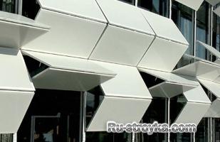 Принципы оформления фасадов.