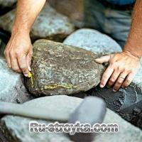 Как построить каменную стену.