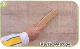 Как подготовить неровные стены и потолки во влажных помещениях под покраску.