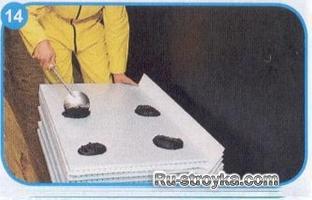 Как выполнить гидроизоляцию фундамента.