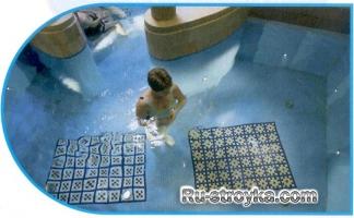 Как выполнить гидроизоляцию и облицовку плитками плавательного бассейна.