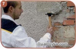Как отремонтировать трещины на фасаде.