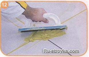 Как укладывать плитку на плитку?