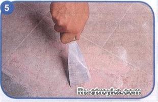 Как сделать пол не удаляя старое покрытие.