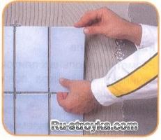 Рекомендации по укладке плитки.