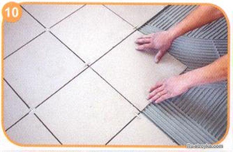 Как уложить теплый пол в ванной