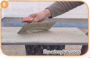 Как уложить плитку в сжатые сроки.
