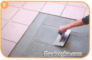 Как уложить плитку на полы с подогревом.