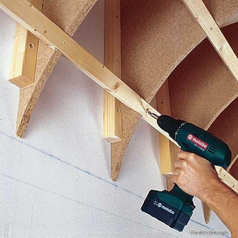 Криволинейный потолок