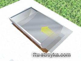 Солнечная печка из бочки.