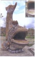 Изготовление художественных каминов с использованием Арт-Бетона.