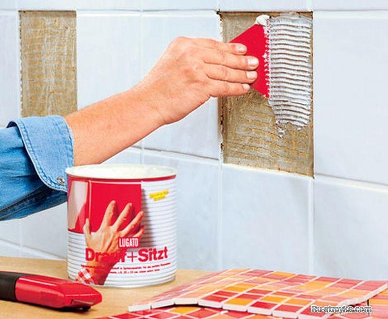 Как украсить кафель в ванной своими руками с помощью доступных материалов