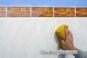 Монтаж керамической плитки поверх старой.