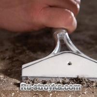 Подготовка бетонного пола для плитки.