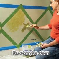 Стены: Декоративная техника живописи 3.