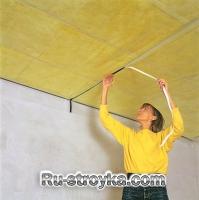 Звукоизоляция потолка.