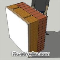 Древесное волокно - изоляция стен.