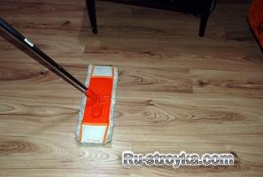Как очистить сильно грязные, деревянные полы.