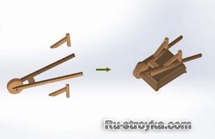 Как сделать тачку садовую
