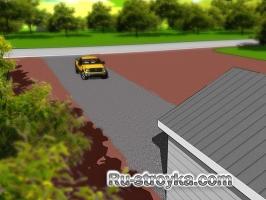 Как сделать гравийную дорогу.