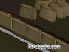 Стены из самана