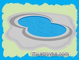 Как очистить бетонный бассейн.