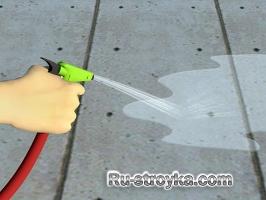 Как удалить пятны ржавчины с бетонного пола