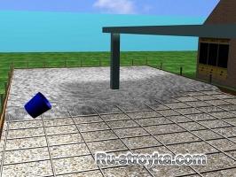 Как сделать бетонную площадку