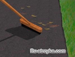 Как очистить асфальт