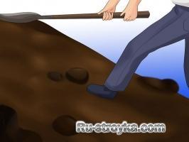 Как сделать подпорную стенку из шпал