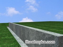 Бетонные стены своими руками