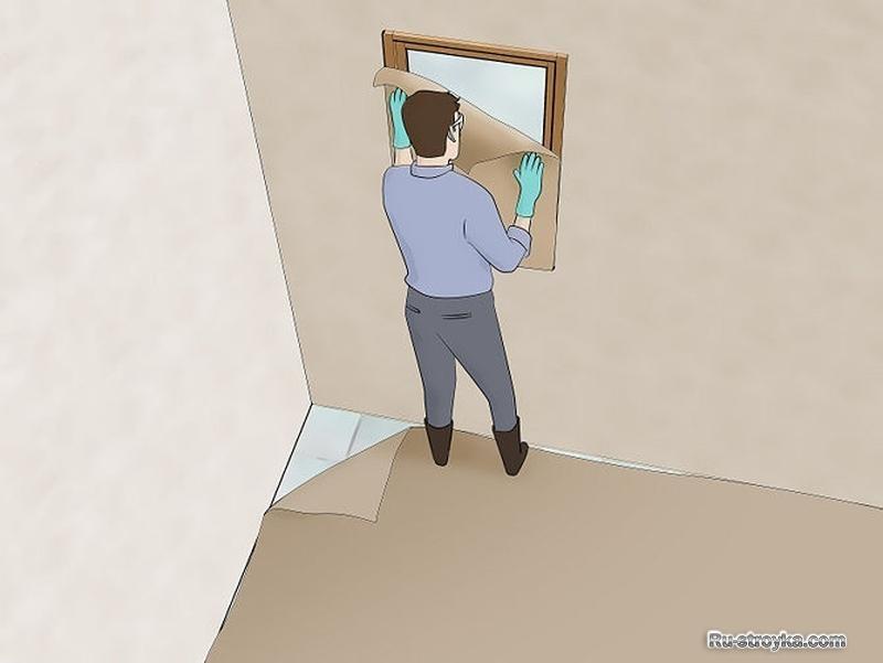 Как сделав кирпичной стене