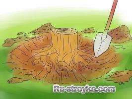 Как срубить дерево.