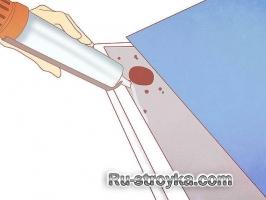 Как отремонтировать водосток