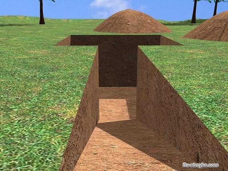 Построить своими руками дом под землей